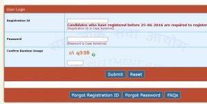 UPSC Online registration